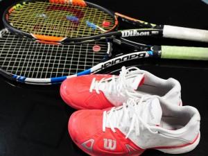 テニス用品のレンタル